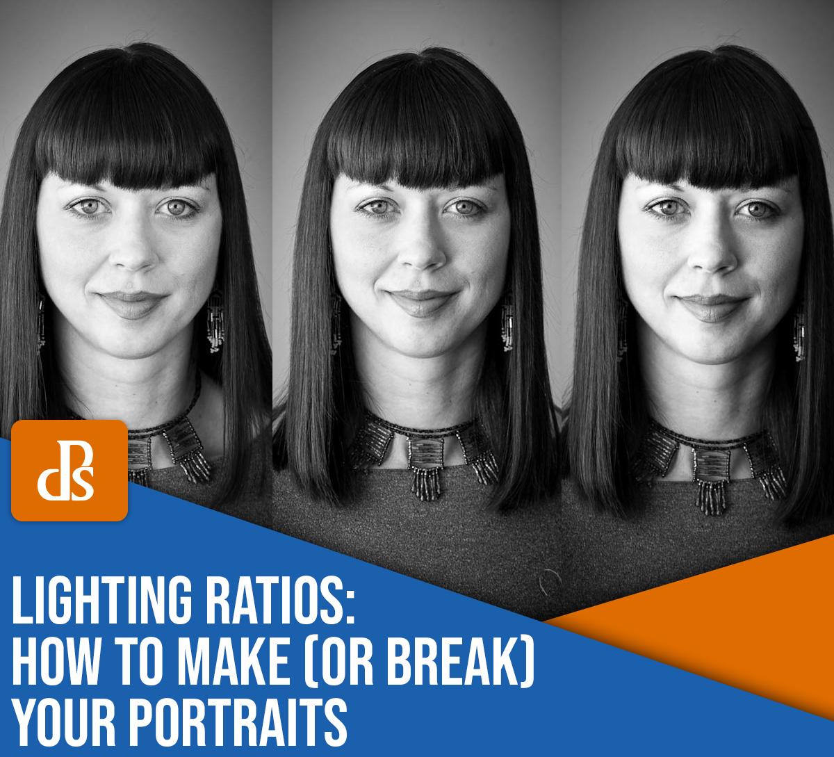 proporções de iluminação como fazer ou quebrar seus retratos