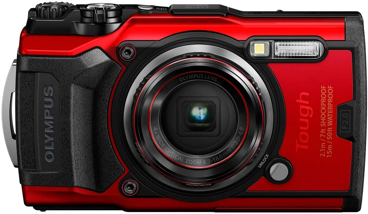 Best camera for travel photography: the Olympus Tough TG-6