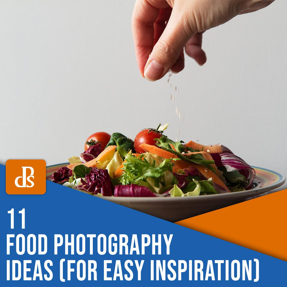 11 ideias de fotografia de comida para inspiração fácil
