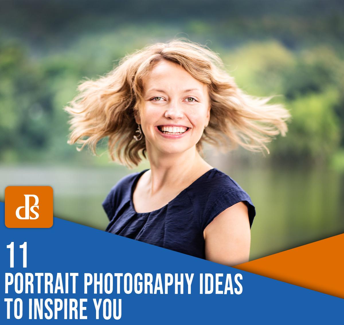 11 ideias de fotografia de retrato que irão inspirar você