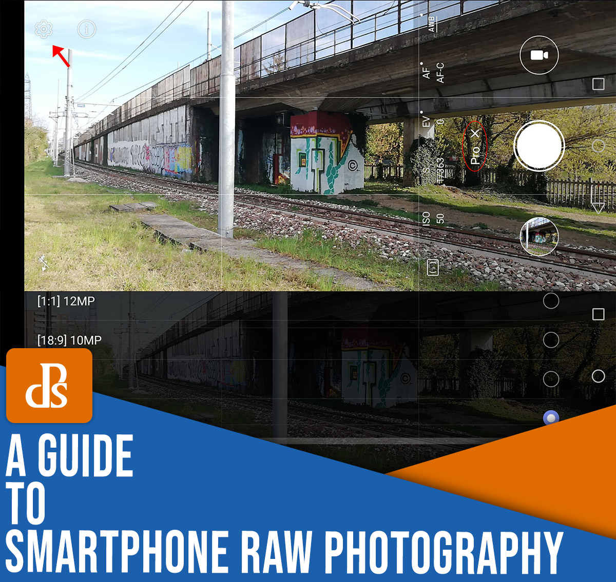 smartphone RAW photography