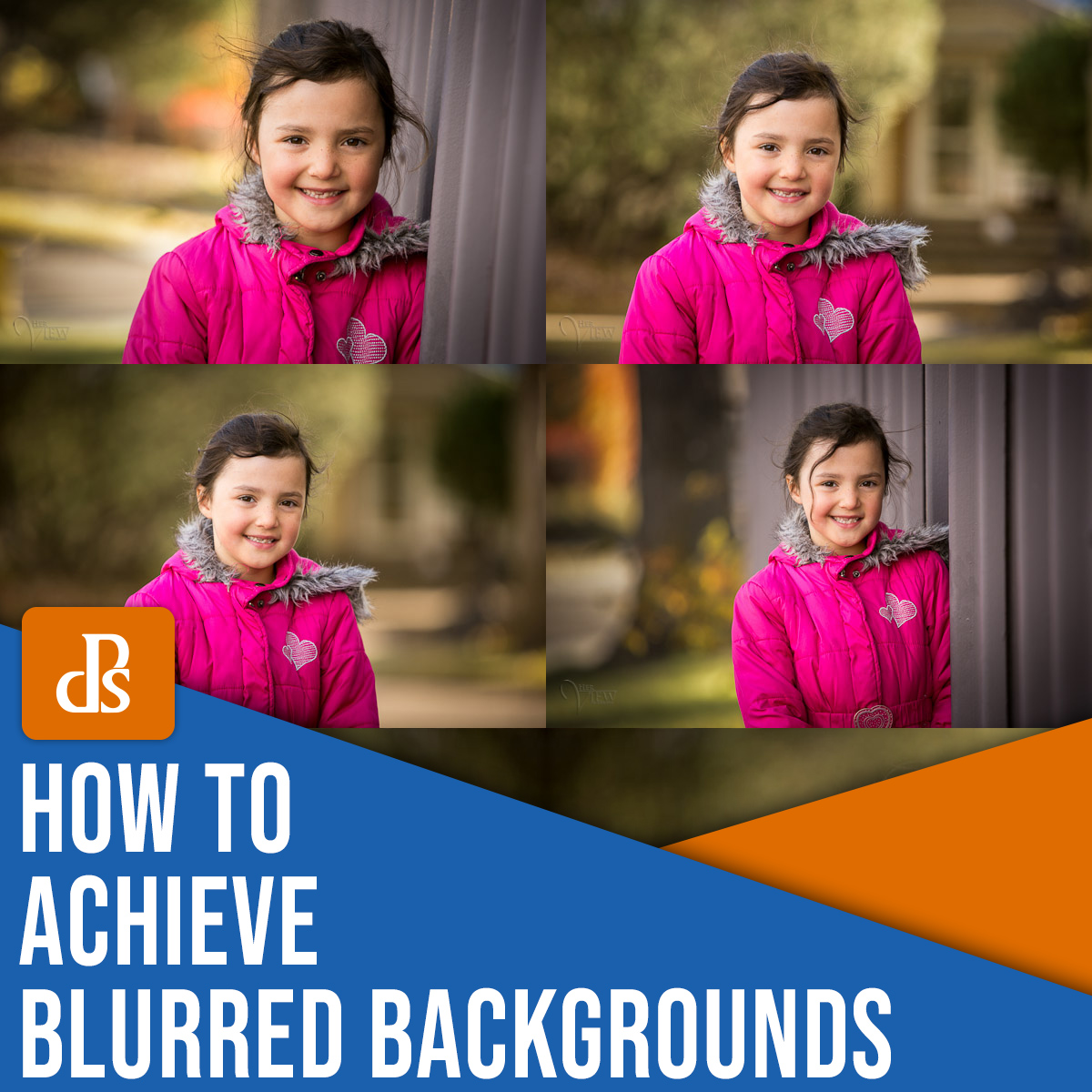 how to achieve blurred backgrounds