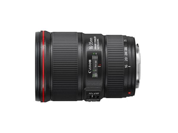 Canon 16-35mm f/4L lens