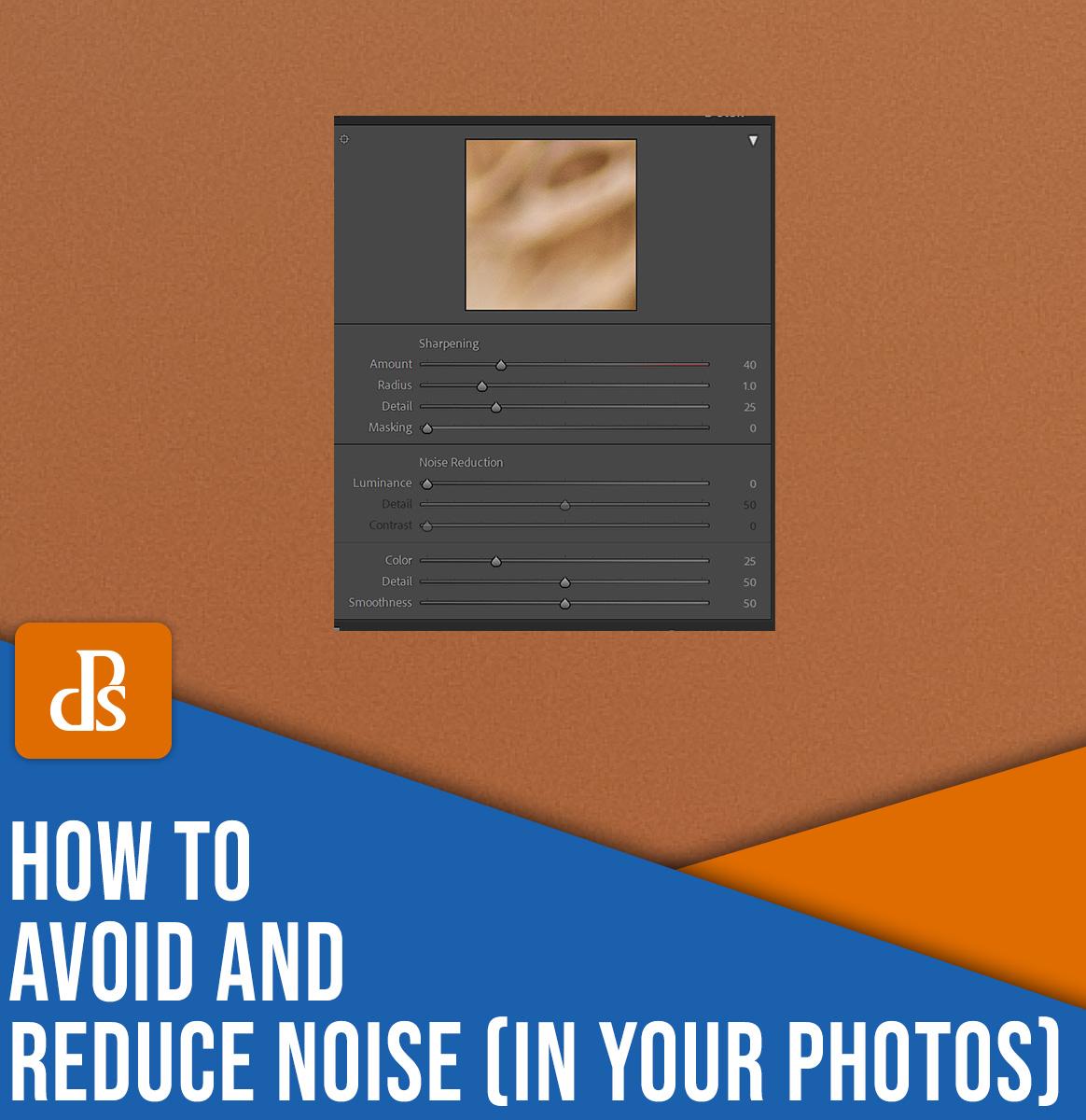 como evitar e reduzir o ruído em suas fotos
