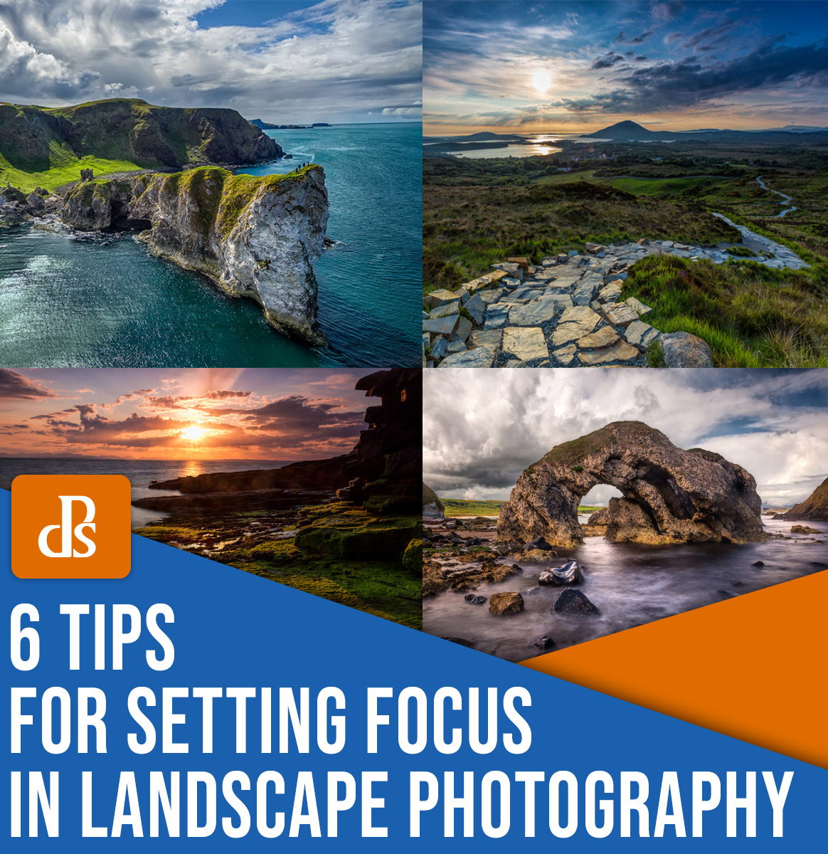 tips for setting focus in landscape photography