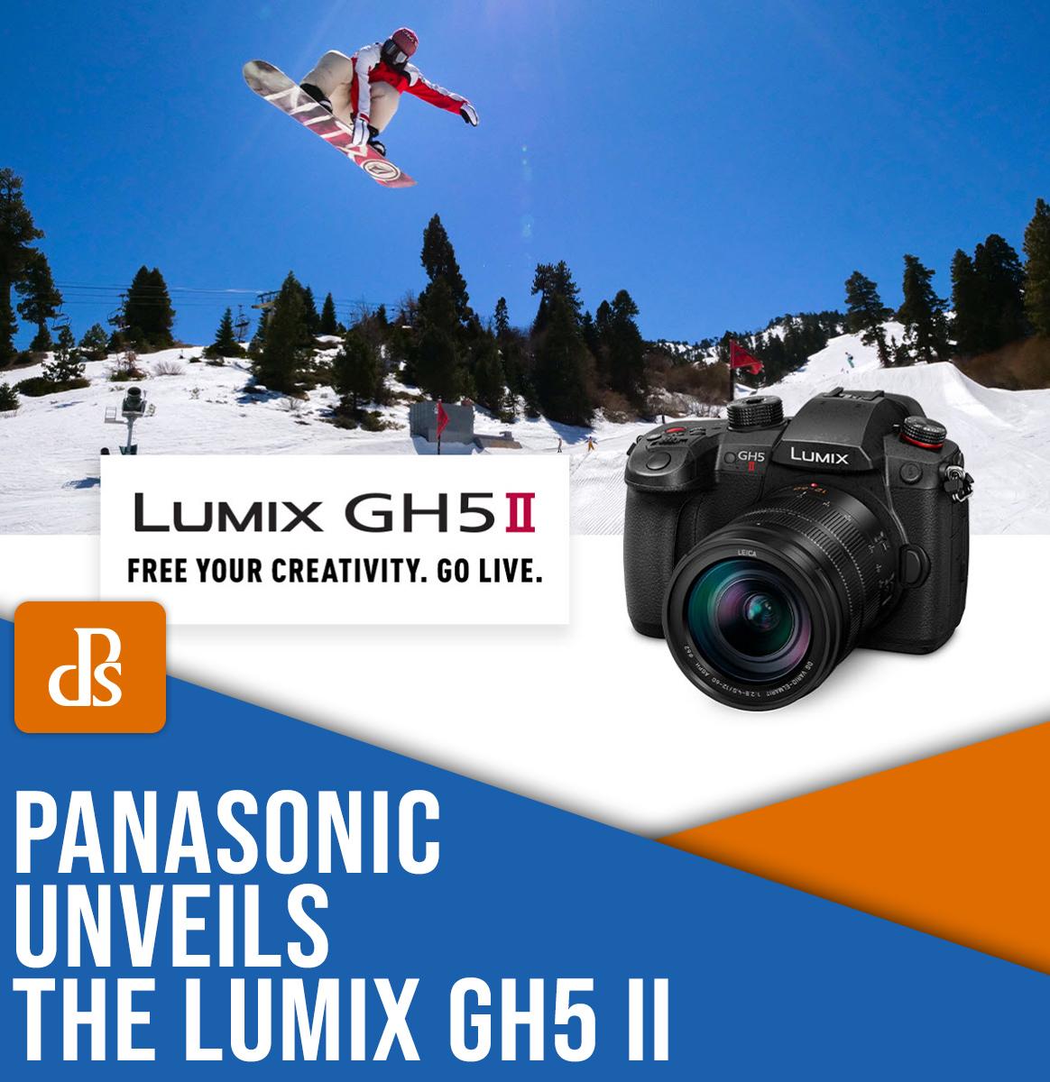 Panasonic Lumix GH5 II released