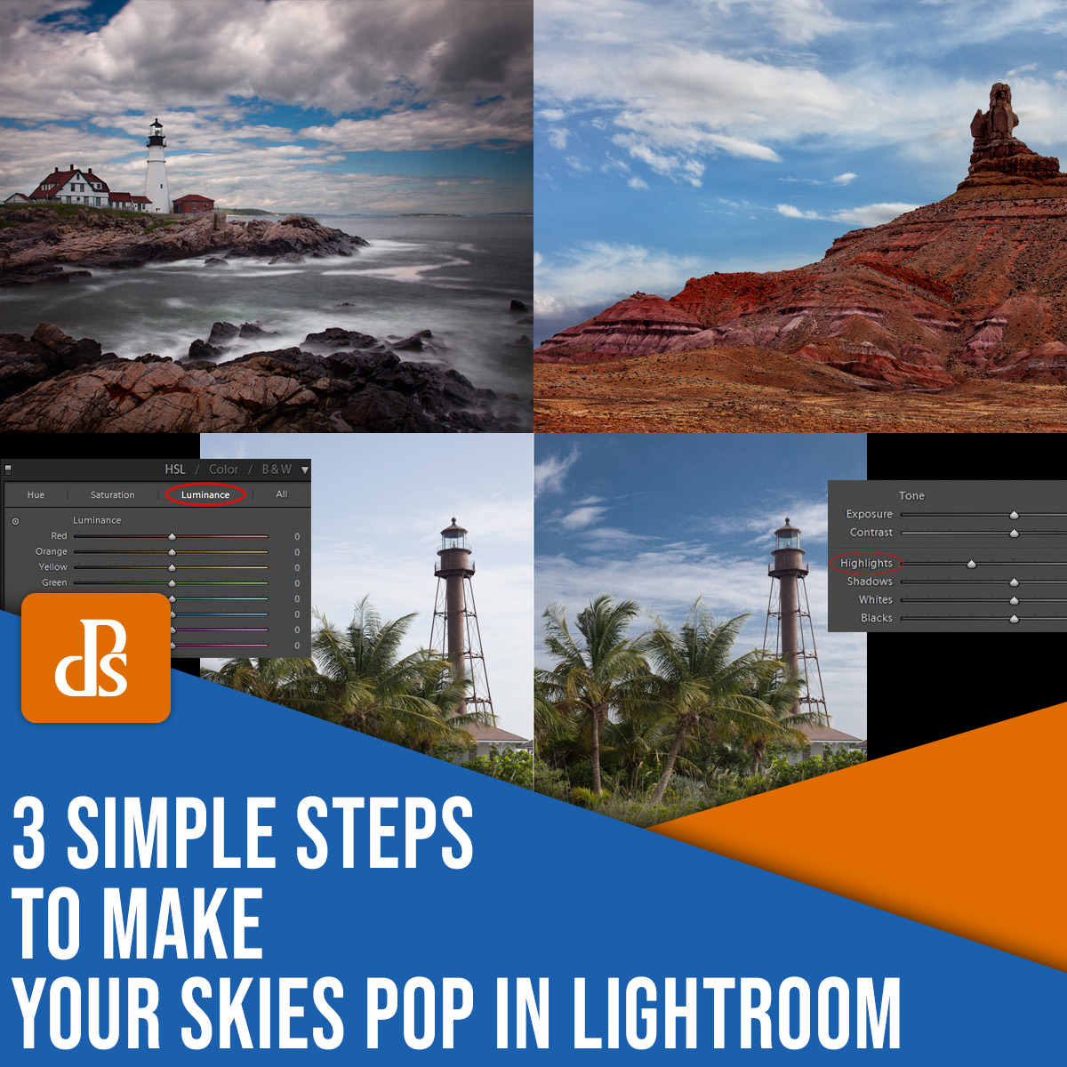 3 simple steps to make your skies pop in Lightroom