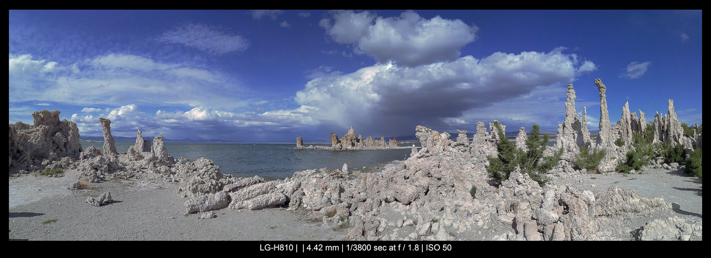 smartphone landscape panorama