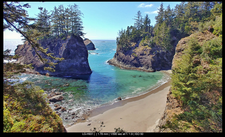 Oregon Secret Beach
