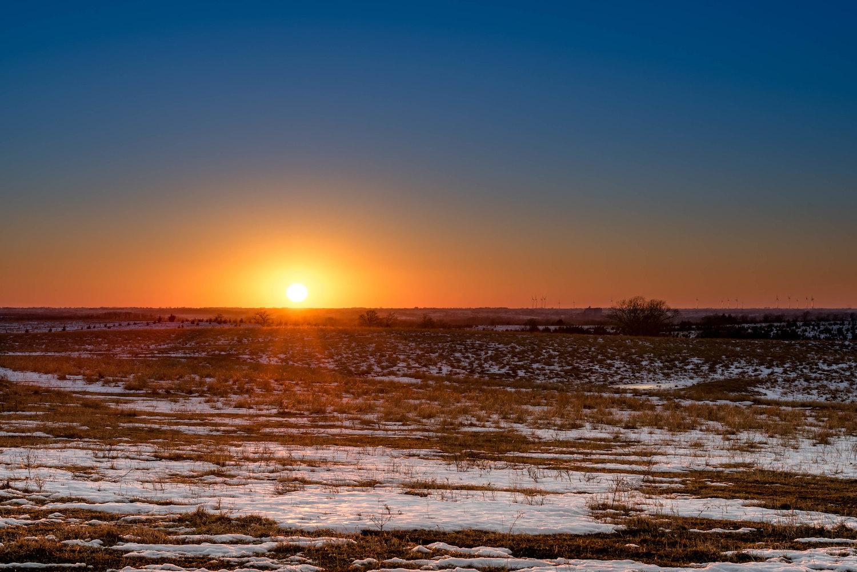 landscape image taken with a tripod