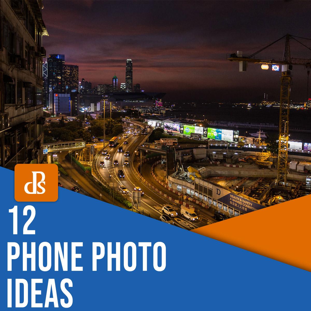 ideias de fotografia de telefone