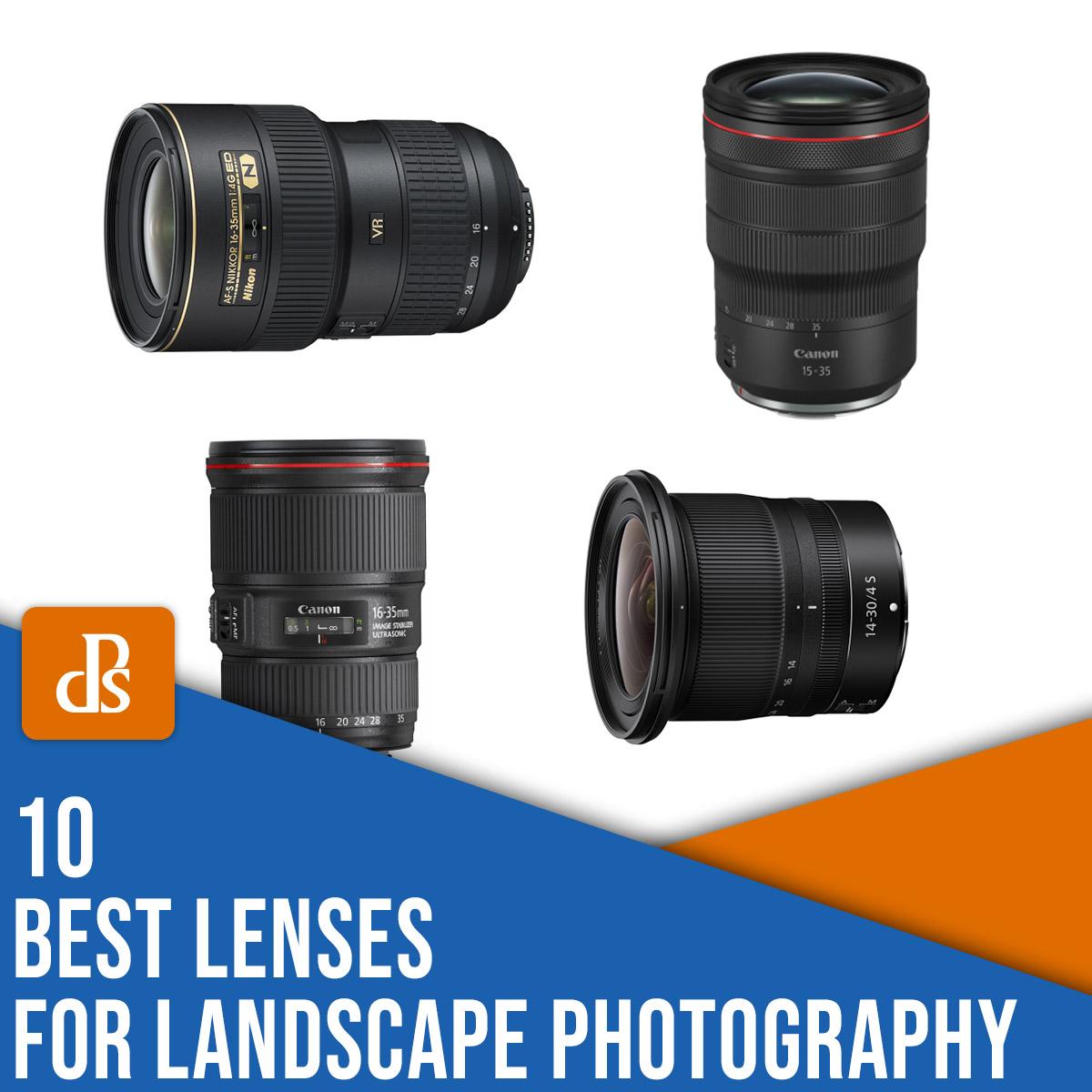 the 10 best lenses for landscape photography
