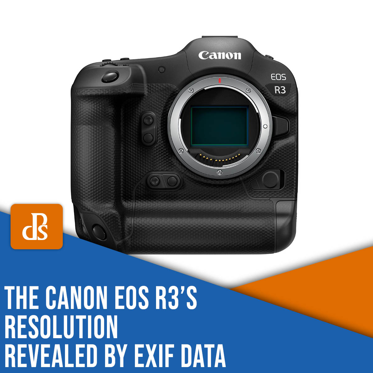The Canon EOS R3's resolution revealed by EXIF data