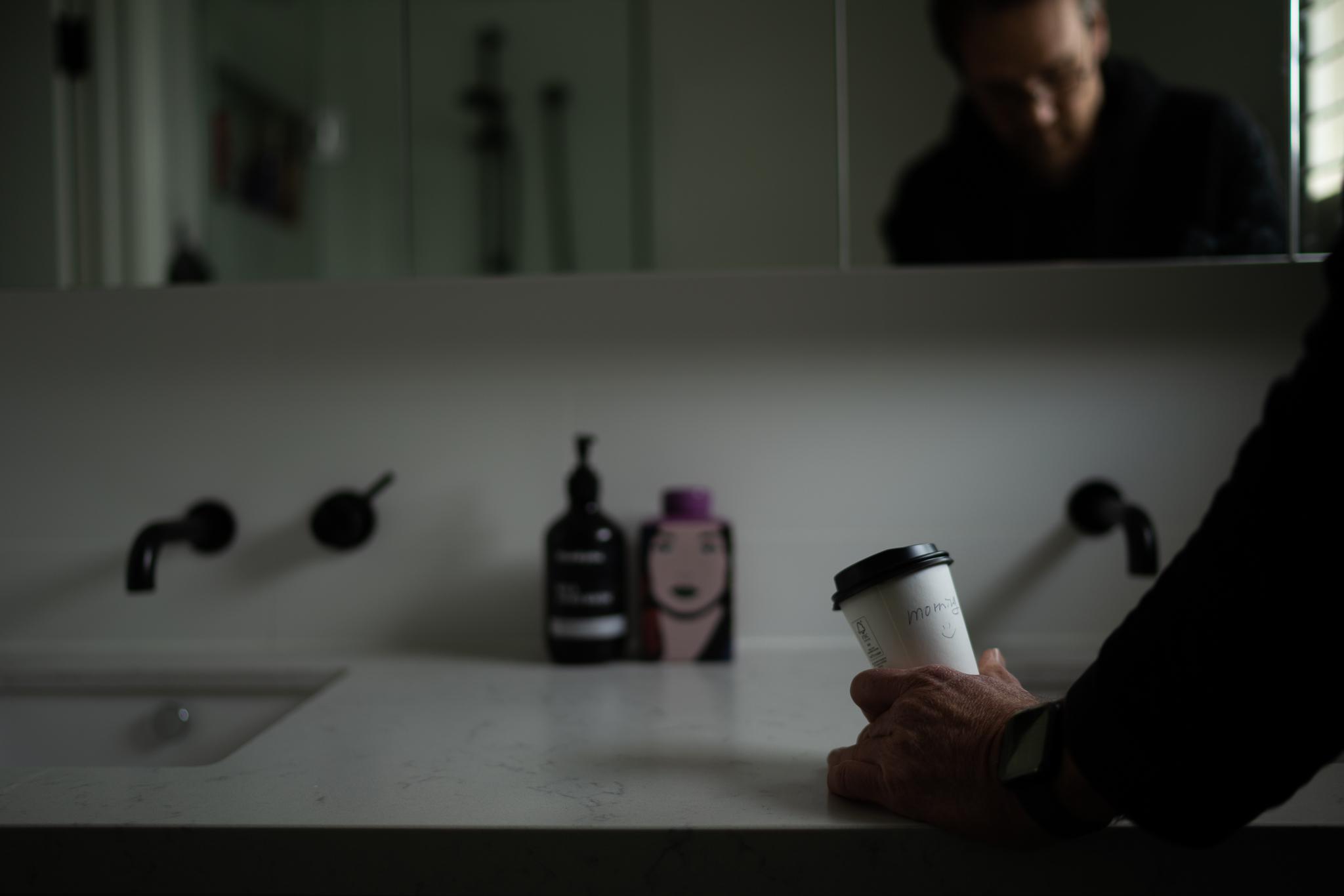 Mirror photography Simon Pollock Gtvone Coffee Morning