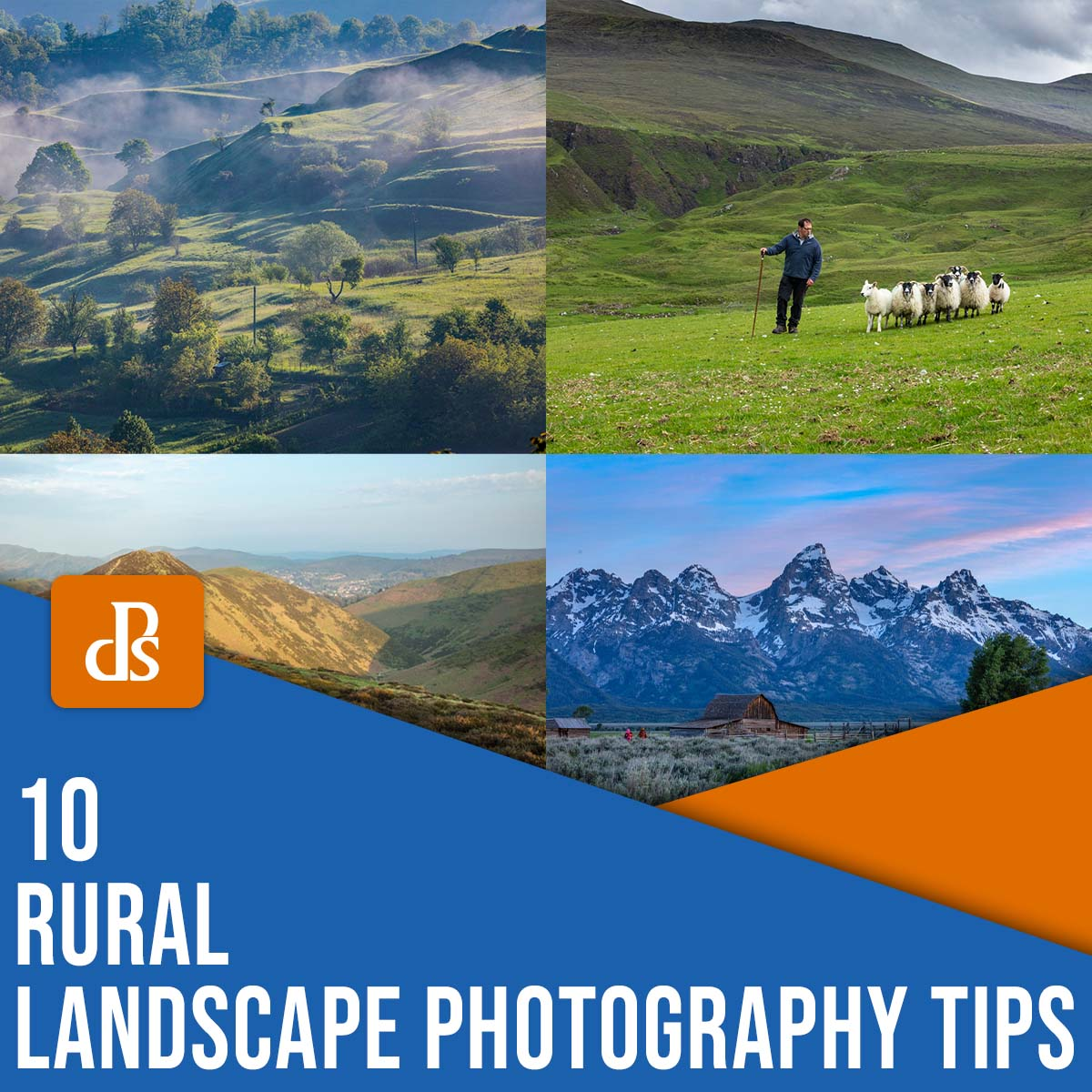 10 Rural Landscape Photography Tips (  Examples)