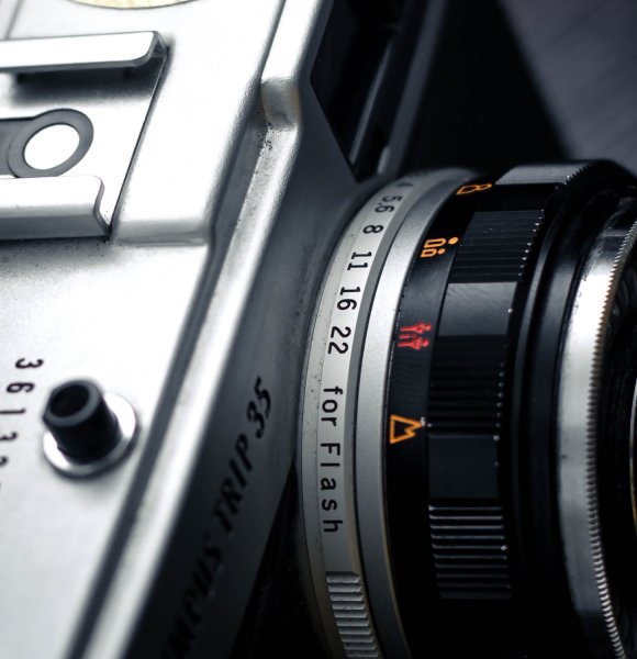 aperture ring on a lens