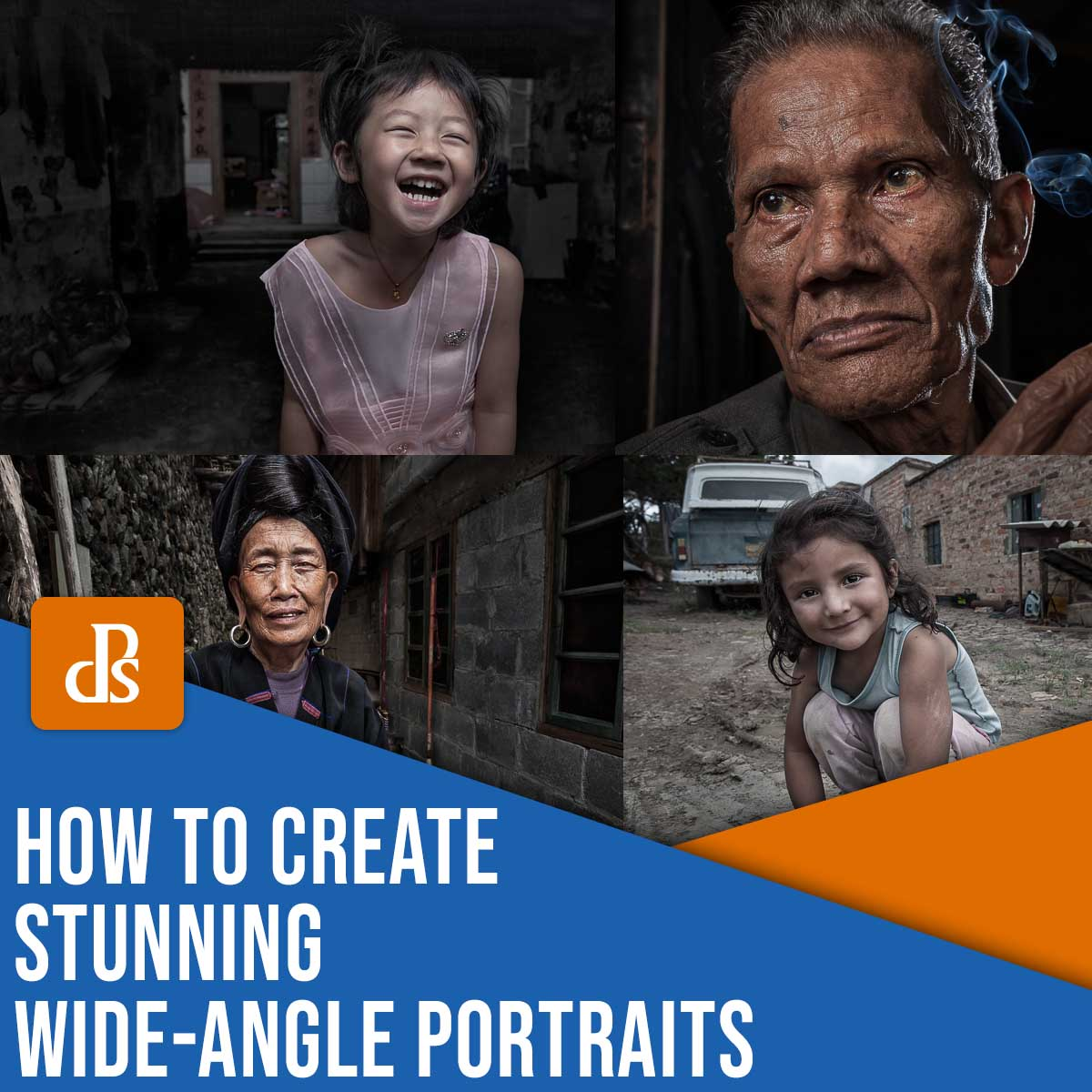 how to create stunning wide-angle portraits