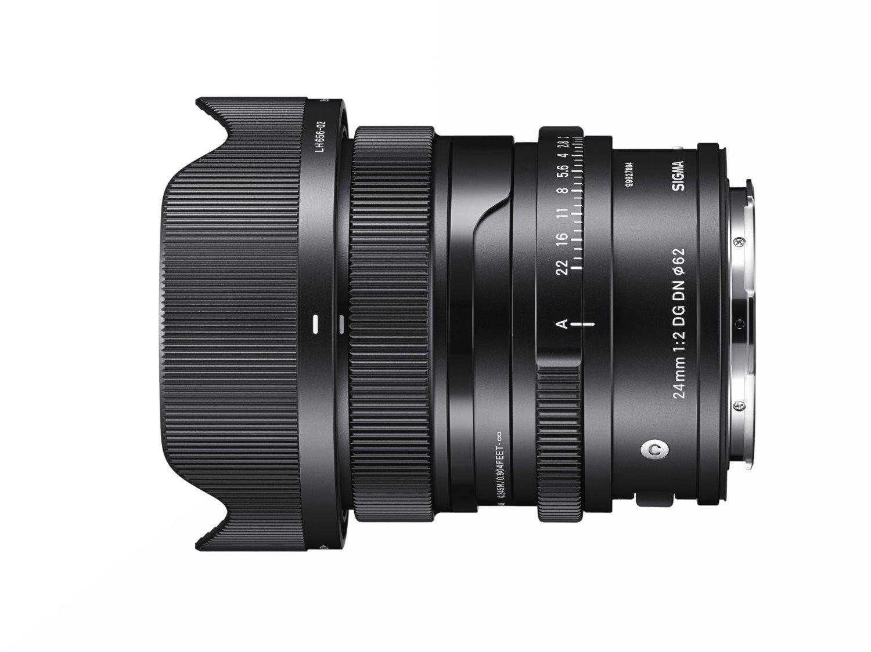 Sigma 24mm f/2 lens