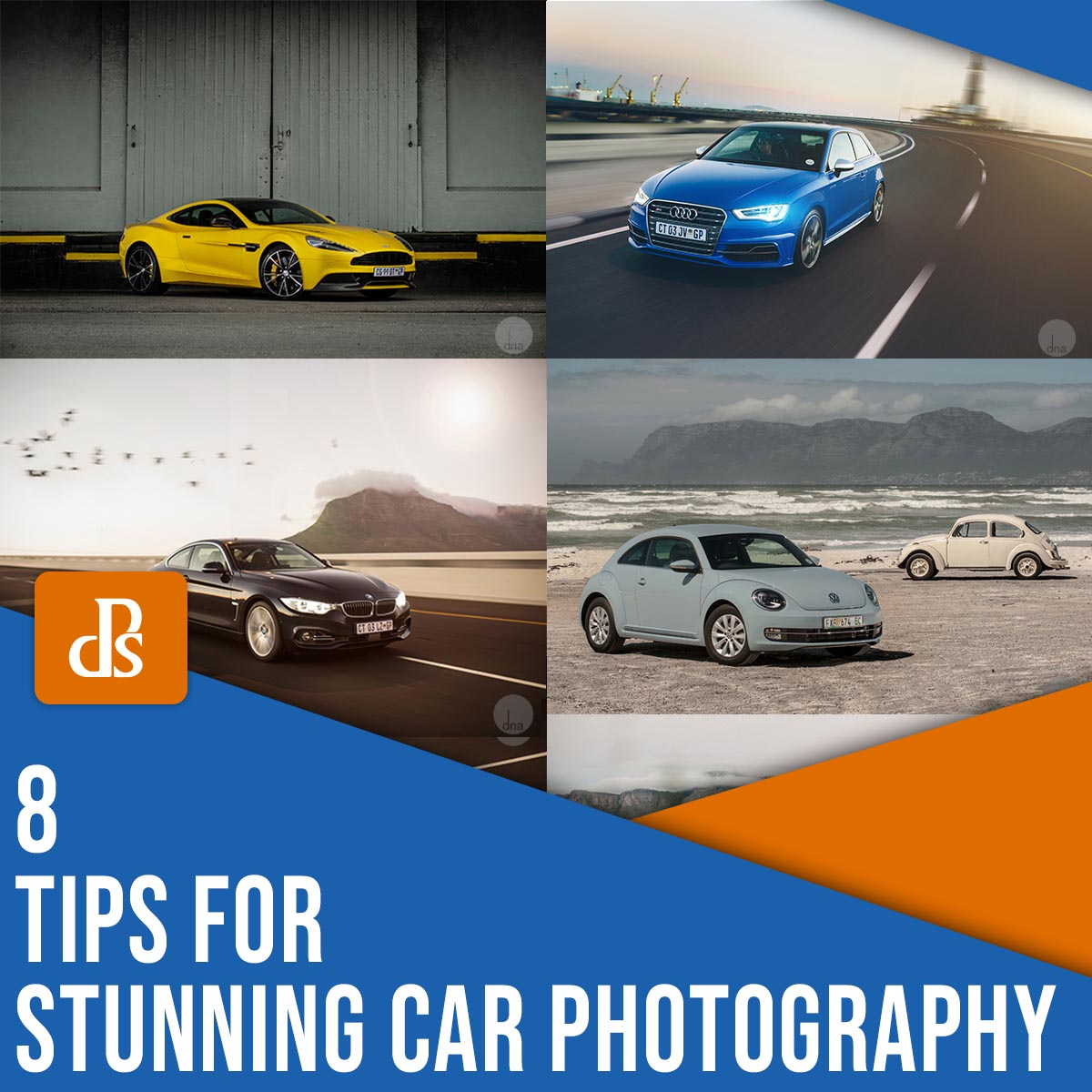 8 tips for stunning car photography