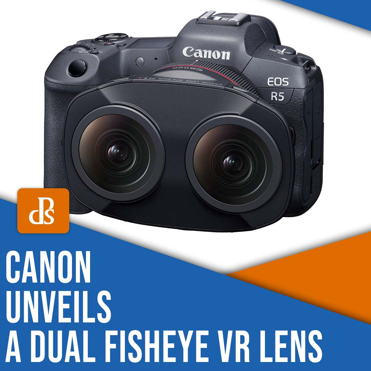 Canon unveils a dual fisheye VR lens