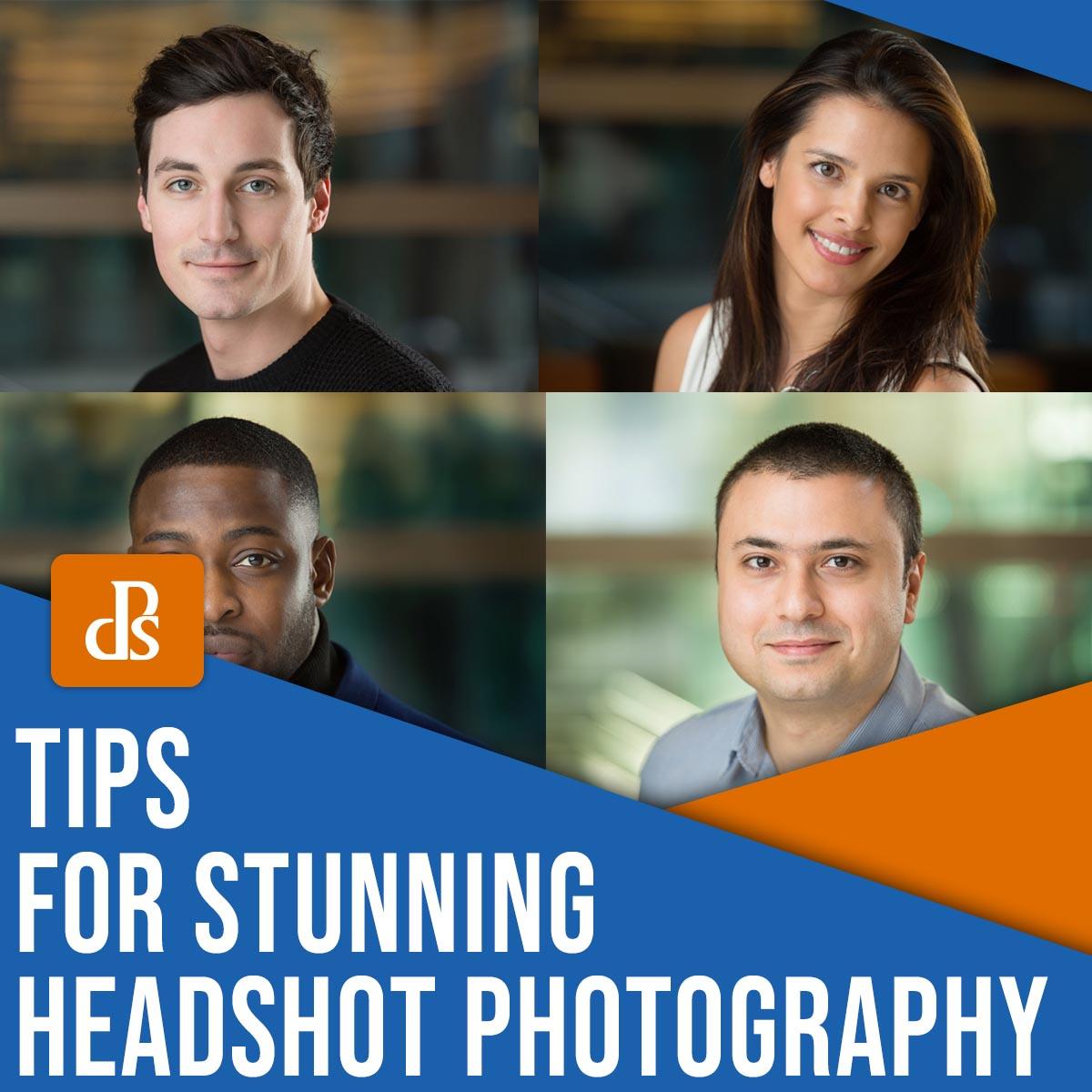 tips for stunning headshot photography