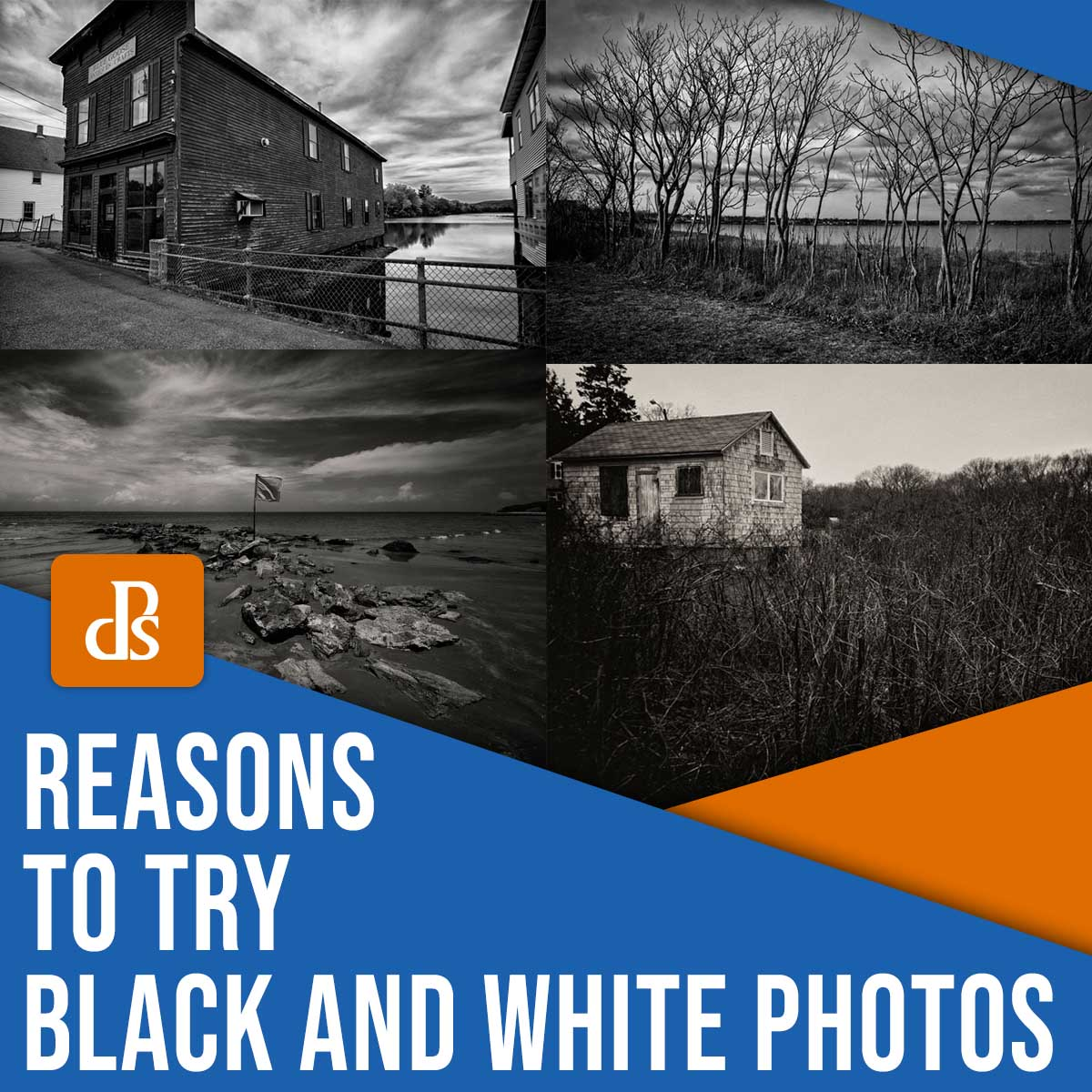 reasons to try black and white photos