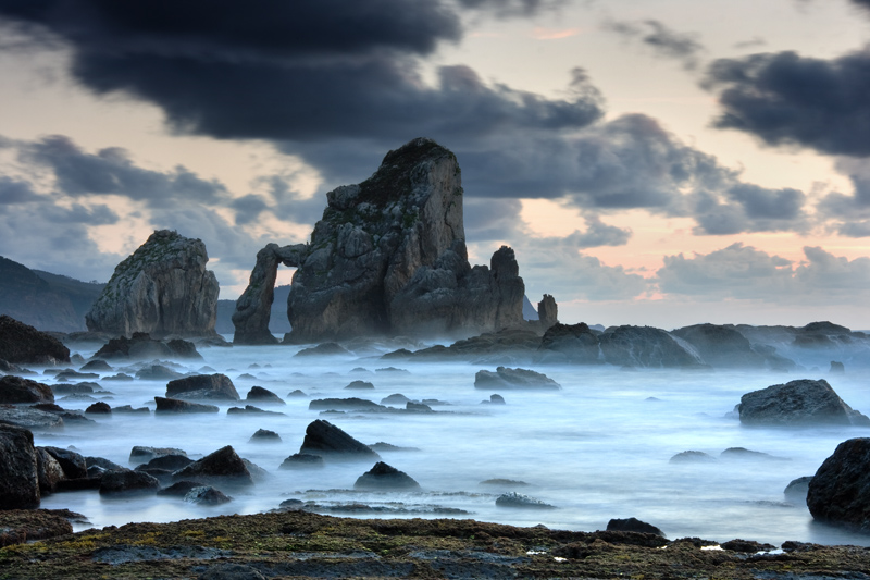 Using the foreground in landscape photography.