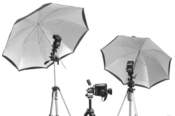 Umbrella-Flash-Reflector