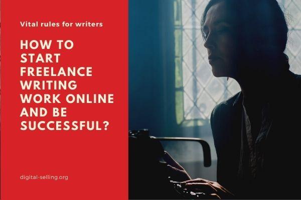 Freelance writing work online