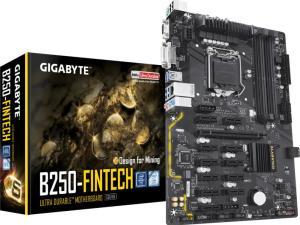Дънна платка GIGABYTE B250 Fintech Mining