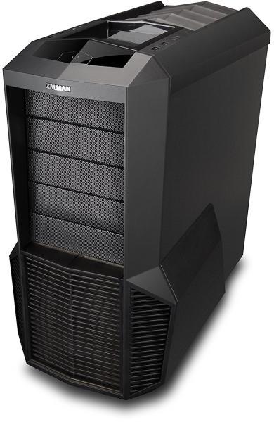 """Производител: Zalman Модел: Z11 Характеристики: Тип: PC Форм фактор: Средна-Кула. Материал: Пластичен, стомана. Инсталирани предни вентилатори: 1x 120 мм Поддържан диаметър на предните вентилатори: 120, 140. Инсталирани странични вентилатори: 2x 80 мм Поддържани размери хард дискове: 63, 5, 88, 9 мм (2.5, 3.5"""") Продукт известен още и като Z 11"""