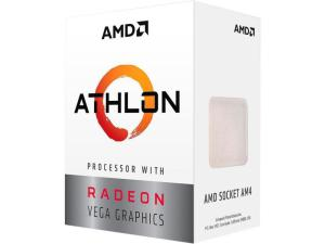 ПРОЦЕСОР AMD ATHLON 200GE 2-CORE, 4-THREAD, 3.2 GHZ BASE, SOCKET AM4, 35W
