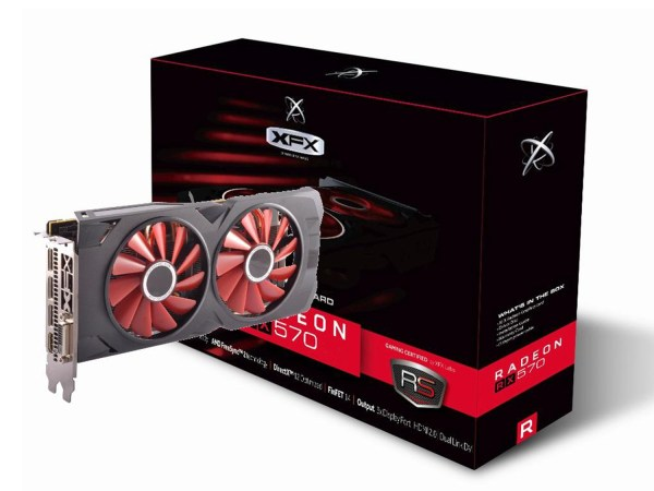 Видео карта XFX AMD Radeon RX 570 RS 8GB XXX Edition