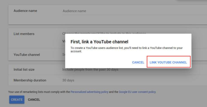 Youtube Retargeting step-3