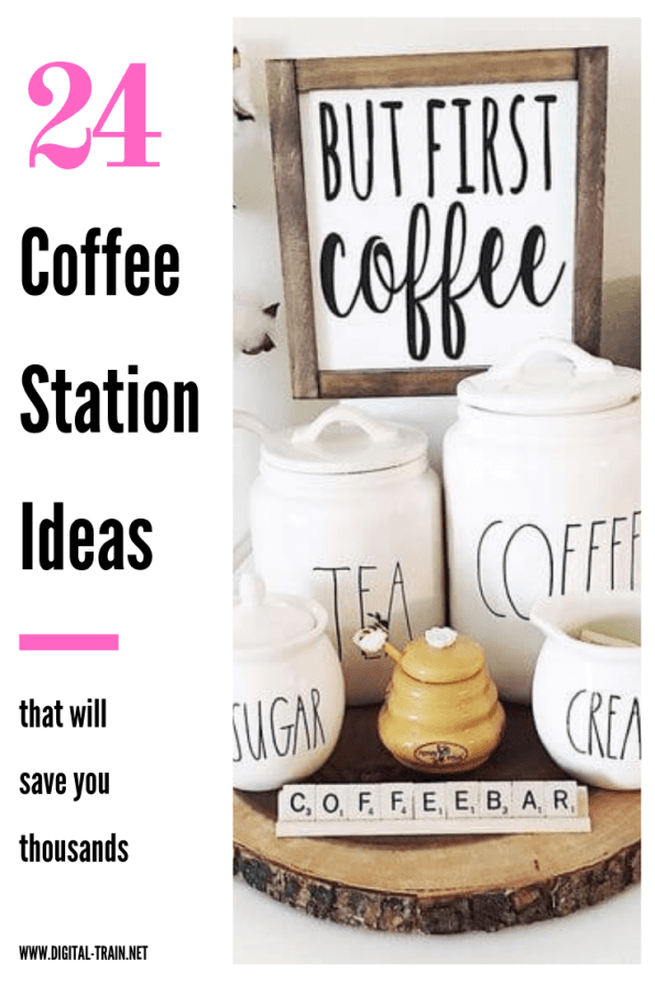 24 Coffee Station Ideas | Digital Train
