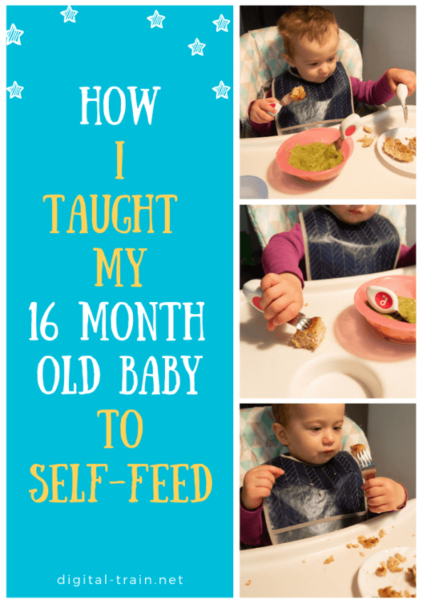 How I Taught My 16 Month Old Baby To Self Feed | Digital Train
