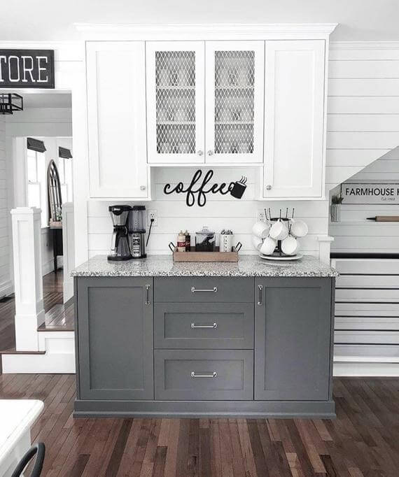 Coffee Station Idea 11