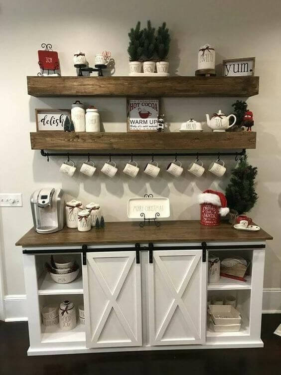Coffee Station Idea 15