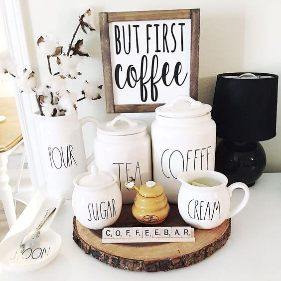Coffee Station Idea 24