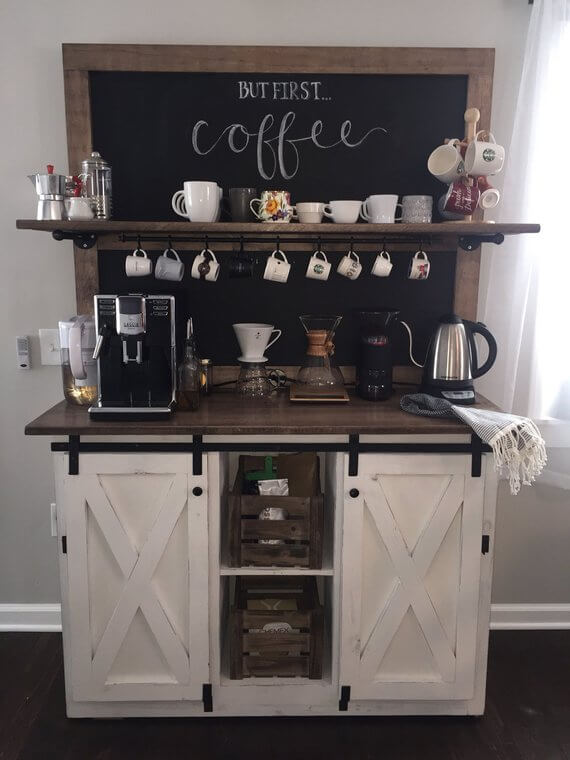 Coffee Station Idea 4