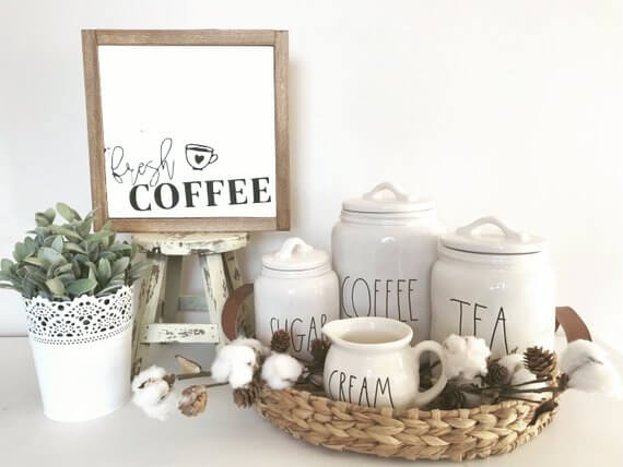 Coffee Station Idea 9