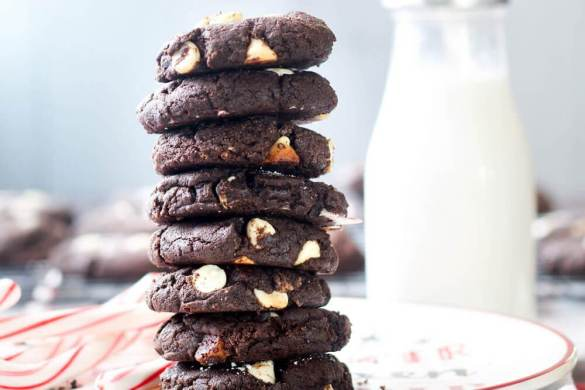 44. Peppermint Chocolate Paleo Cookies Christmas Recipe