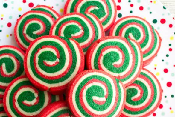 98. Christmas Cookie Pinwheels Recipe