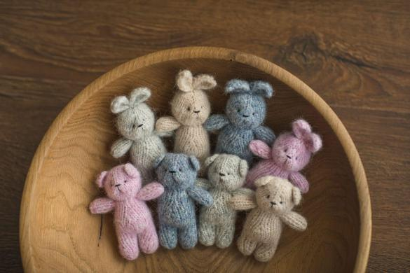 24. Newborn Knit Teddy 3