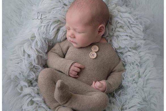 82. Newborn Romper