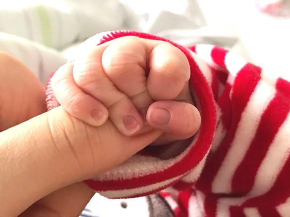 Newborn Baby Hand Grip