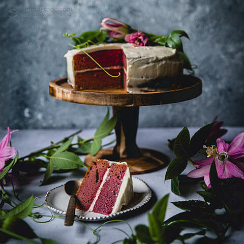15. Low Carb Red Velvet Cake