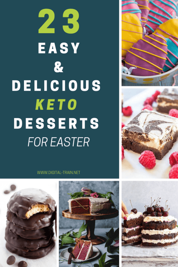 23 Easy & Delicious Keto Desserts For Easter Digital Train