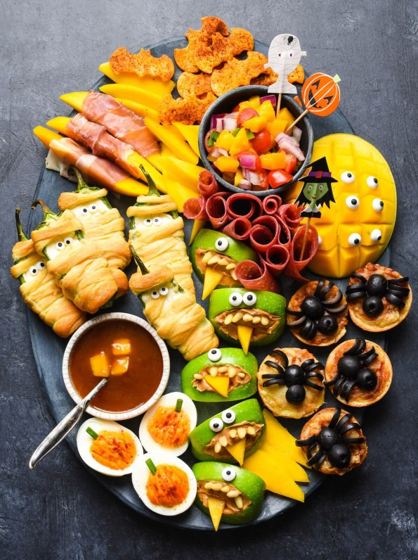 9. Easy Halloween Party Food Digital Train