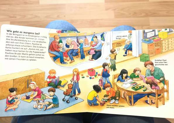 Children Books Day To Day Life In Kindergarten